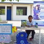 Junto a sus familias, niños wayúu cobijados con el programa Mi Nueva Familia reciben mercados. Agosto 2021
