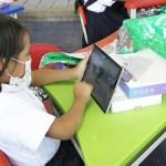 Niños de Chipatá, Santander, reciben computadores y tablets gracias a la campaña de donación Ayudas que conectan. Septiembre 2021