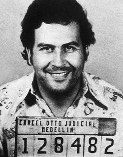 Mugshot Pablo Escobar