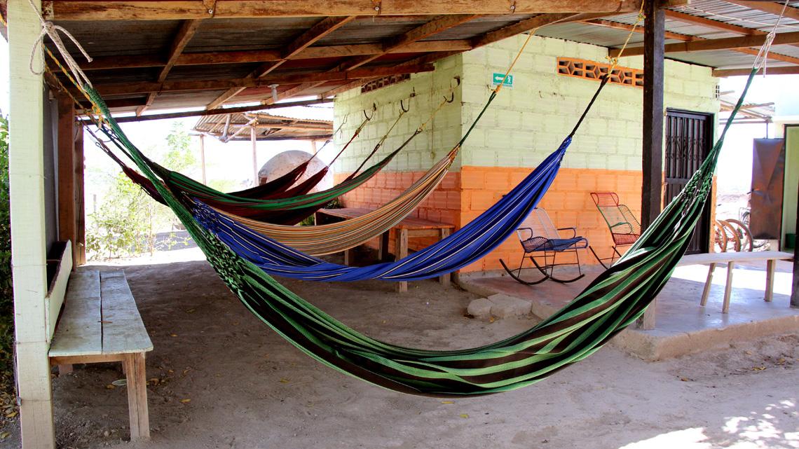 Overnachten Tatacoa