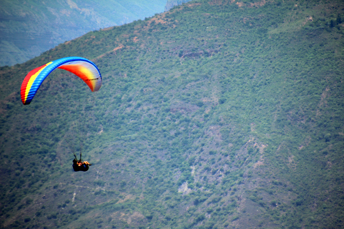 Paragliding San Gil Colombia