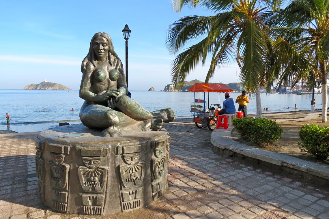 Stranden Santa Marta Colombia