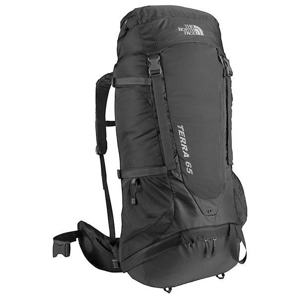 The North Face rugzak zwart