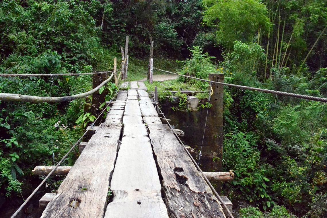 Bergweg Minca Colombia