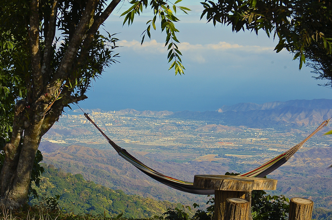 Bergdorpje Minca Colombia