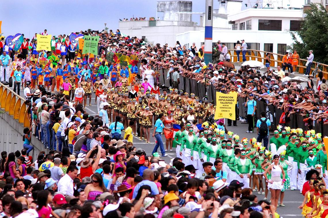 Feria de Cali carnaval optocht