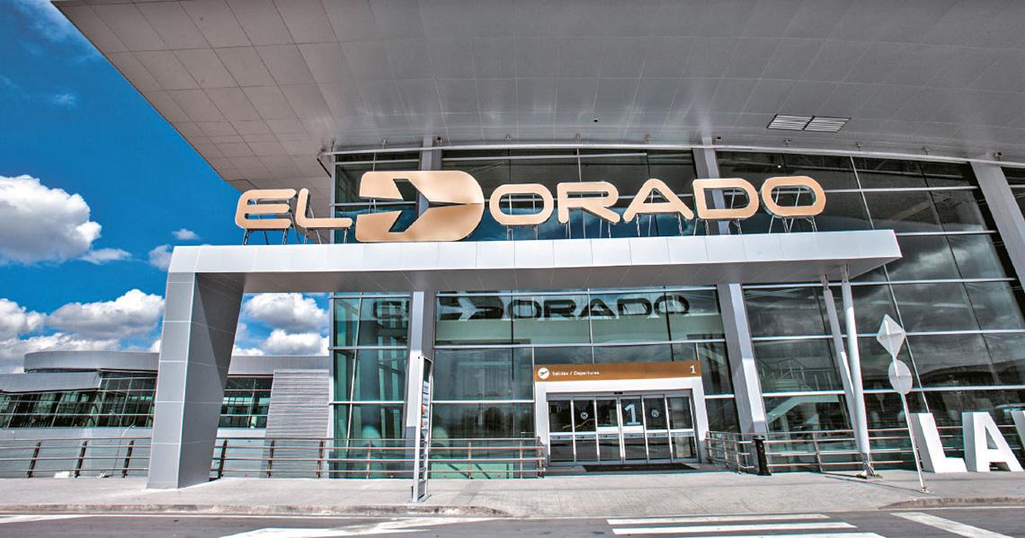 Vliegtickets Bogotá El Dorado airport