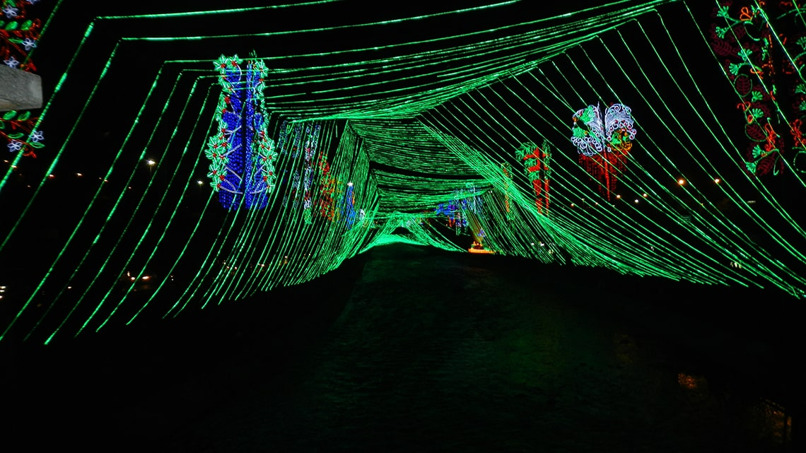 Lichtfestivals in Colombia
