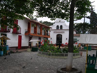 Пуэбло паиса - деп. Антиокиа - г. Богота