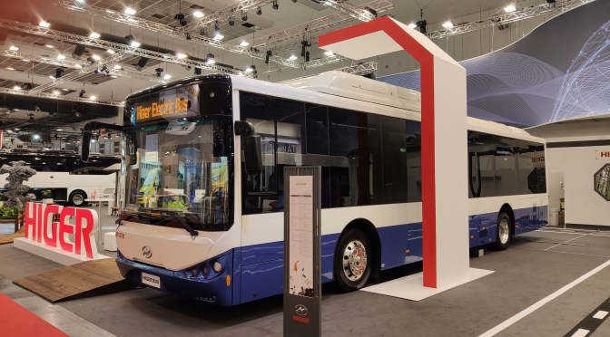 HIGER BUS WOULD ASSEMBLE BUSES IN BRAZIL AND STUDY OTHER LATIN COUNTRIES