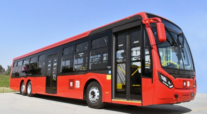 VOLVO BUSES AND CAIO SEND 35 EURO 6 LOW ENTRY BUSES TO MEXICO METROBUS