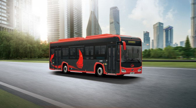 KING LONG LANZA PRIMER BUS EN FIBRA DE CARBONO HECHO EN CHINA