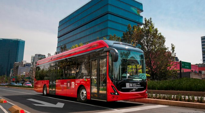 TESTS FOR 6 MONTHS STARTED THE VOLVO 7900 ELECTRIC IN MEXICO CITY