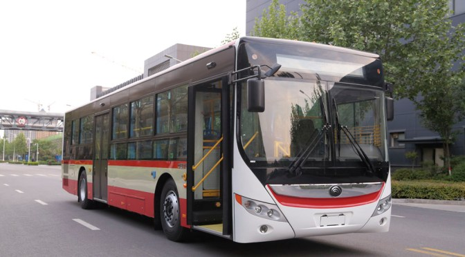 YUTONG DELIVERS 25 HYBRID BUSES TO URUGUAY