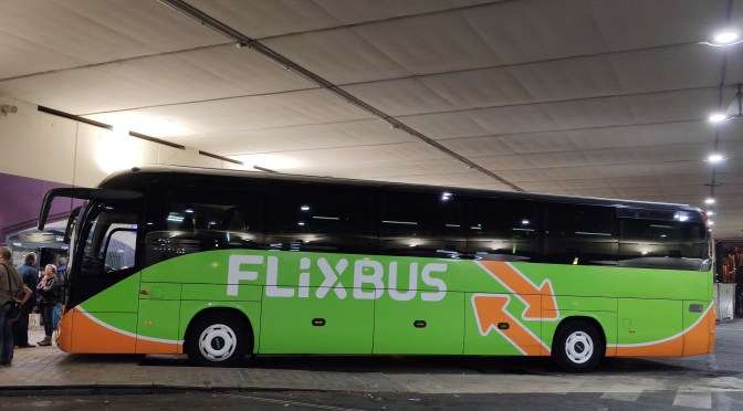 FLIXBUS IS WAITING FOR THE START OF OPERATION IN BRAZIL TO COMPETE WITH BUSER