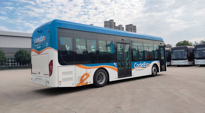 BYD HOUSES THE MARKET WITH MORE THAN 1,100 URBAN ELECTRIC BUSES IN LATIN AMERICA
