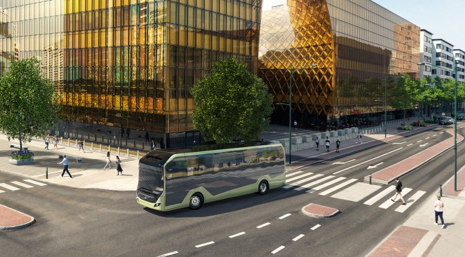 VOLVO WILL TEST ITS NEW BZL ELECTRIC BUS IN COLOMBIAN STREETS