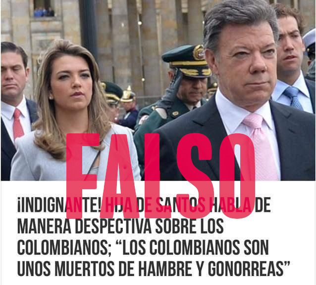False appointment of Maria Antonia Santos
