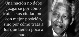 MIRA lamenta la muerte de Nelson Mandela