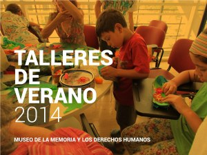TALLERES DE VERANO 2014
