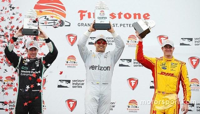 El podio. Foto- Motorsport.com