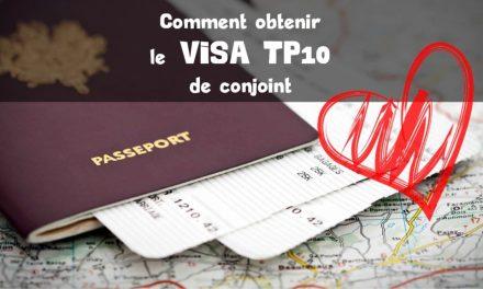 Visa TP10 : le visa pour les conjoints