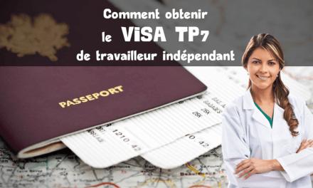 Visa TP7 – Travailleur indépendant