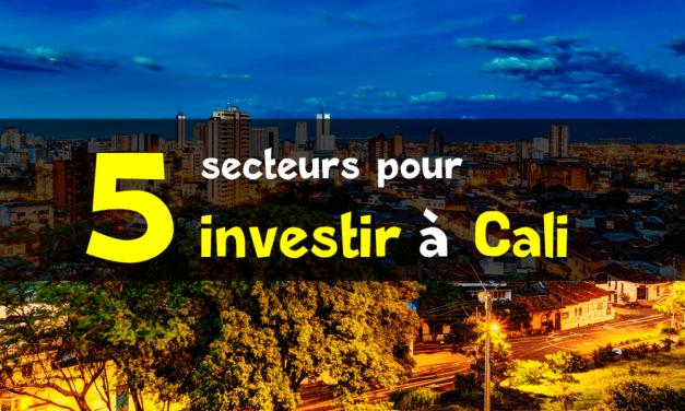 5 secteurs pour investir à Cali