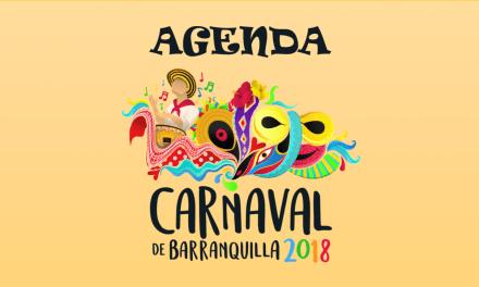 Agenda carnaval de Barranquilla 2018