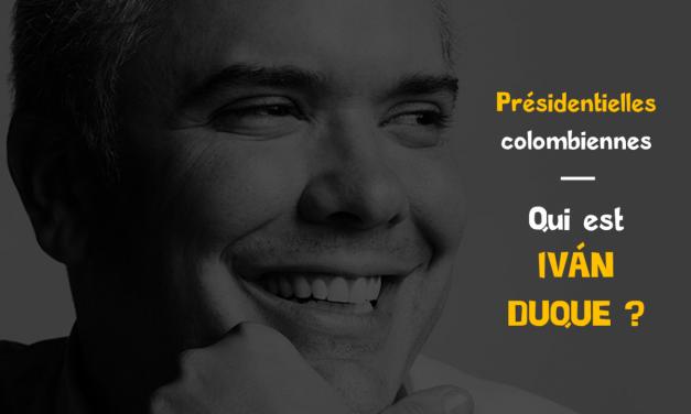 Qui est Iván Duque : élections 2018