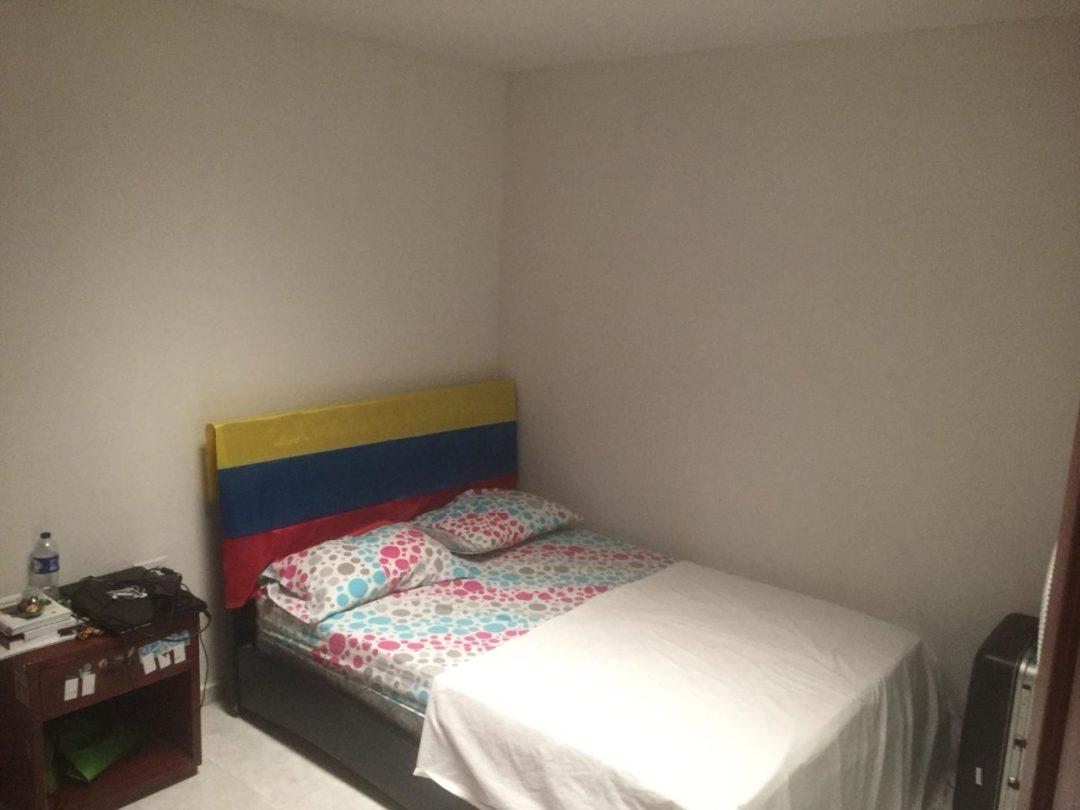 lit et chambre en Colombie