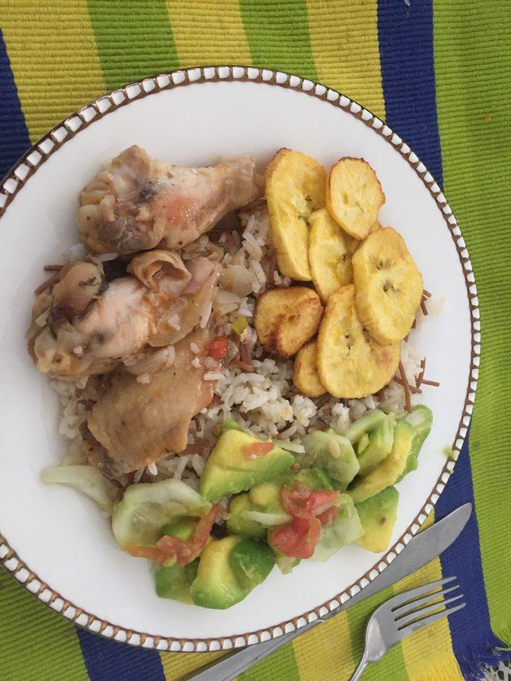 vivre chez une famille colombienne : plat colombien
