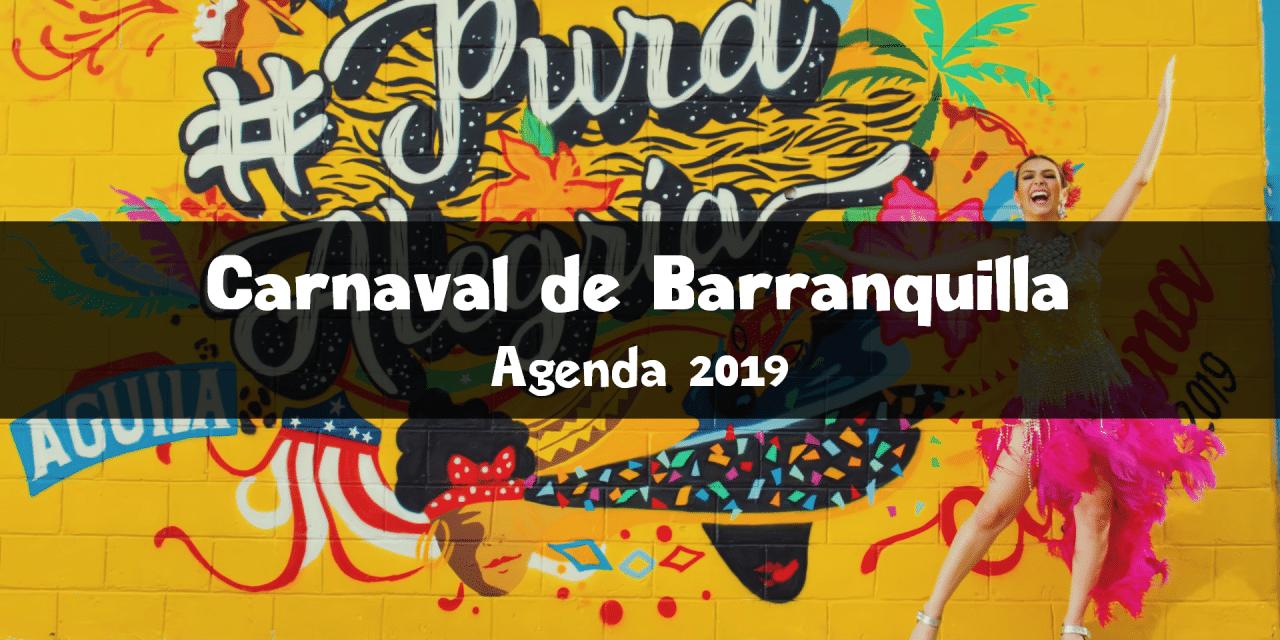 Carnaval de Barranquilla 2019 : agenda des événements