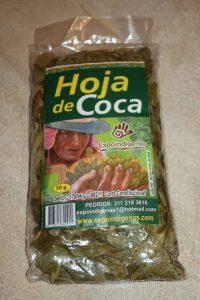 thé de coca Nevado del Ruiz