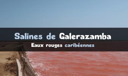 Salines de Galerazamba : Colombie