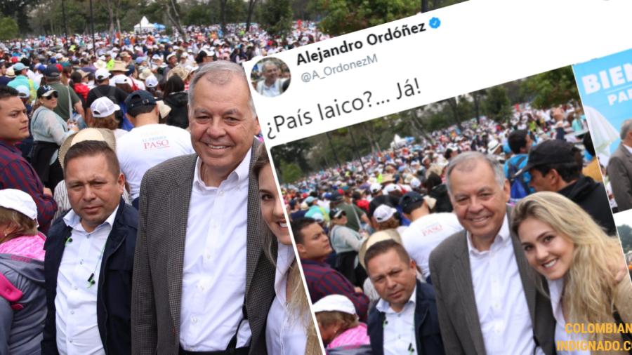 ALEJANDRO ORDOÑEZ PAIS LAICO