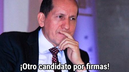 Luis Mendieta candidato farc secuestro