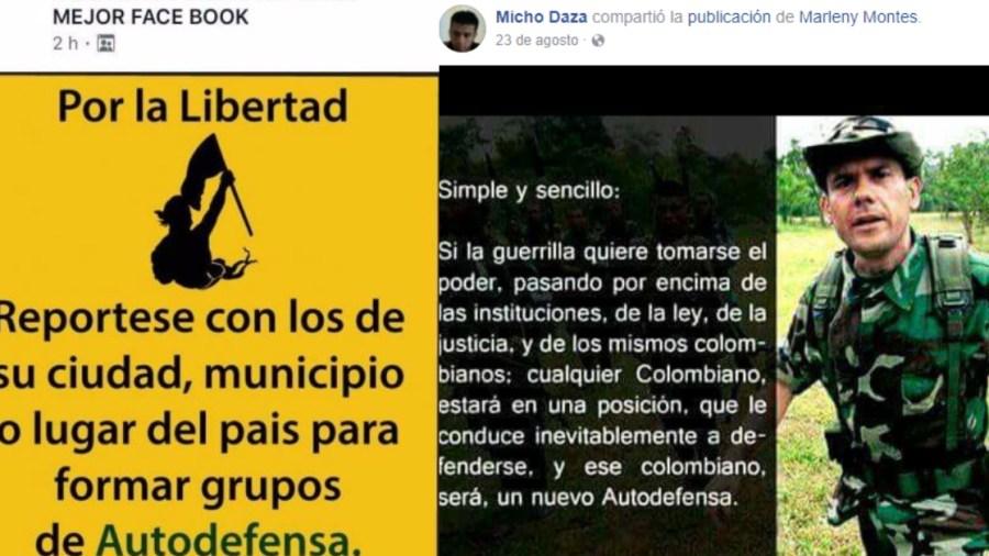 facebook fernando londoño paramilitares