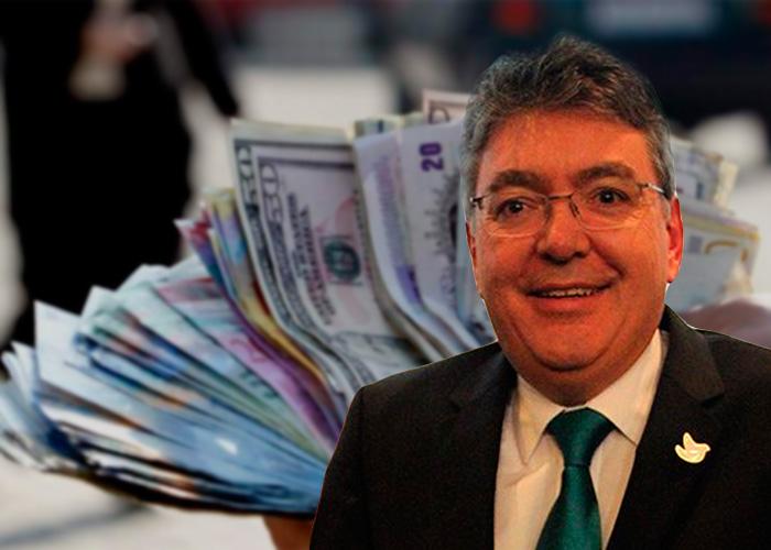 ministro hacienda, mauricio cardenas colombiano indignado