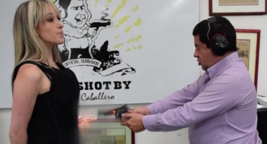 caballero blindaje colombiano indignado
