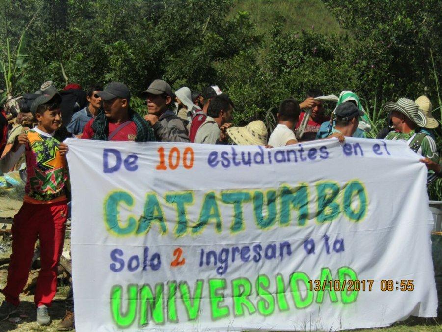 protesta catatumbo