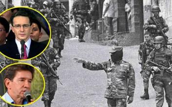alvaro uribe paramilitares Operación Orión