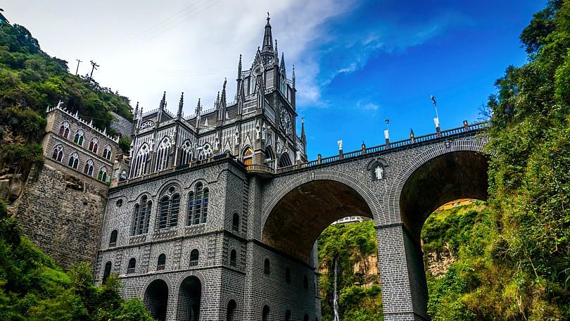 Santuario de las Lajas, en Nariño.