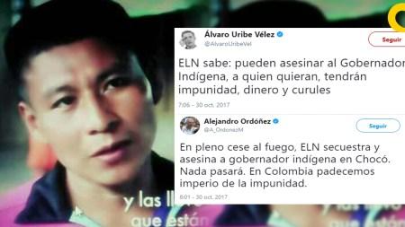 gobernador líder indígena