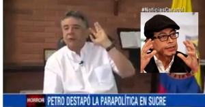 petro debate paramilitarismo sucre