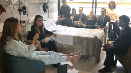 marta lucía ramirez clinica accidente vicepresidenta