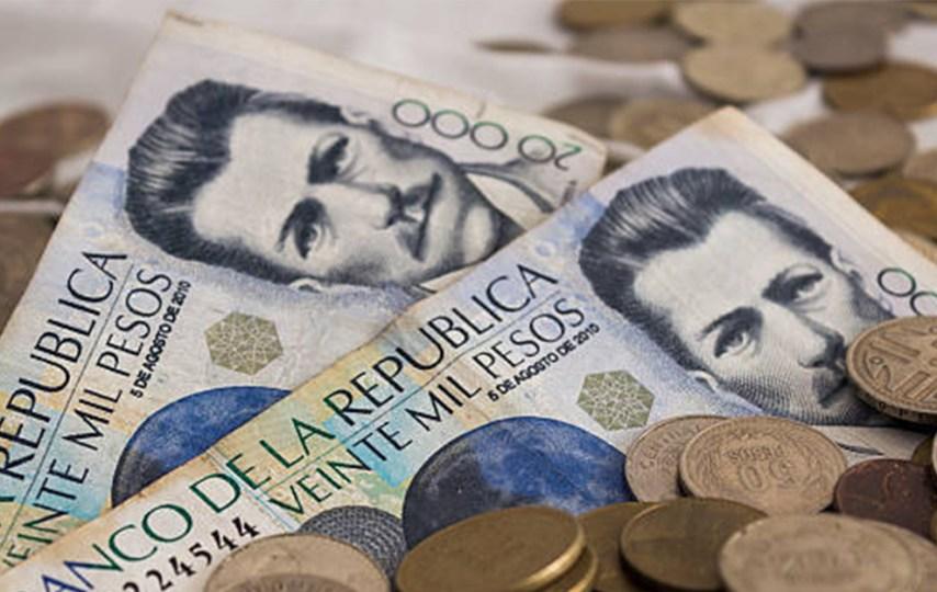 plata dinero colombia billetes gota a gota
