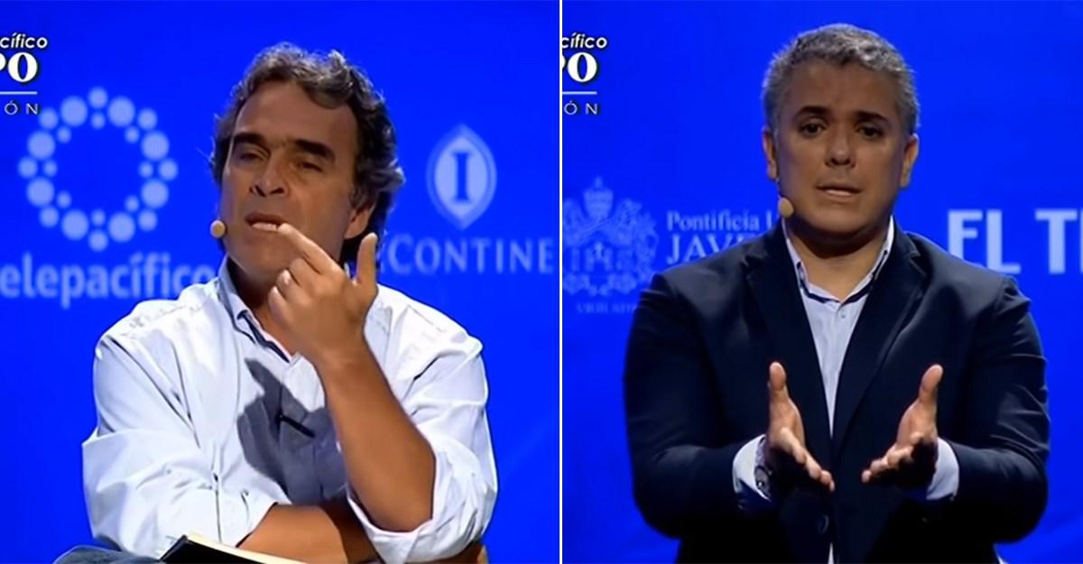 El video cuando Duque le aseguró a Fajardo que bajaría los impuestos en Colombia