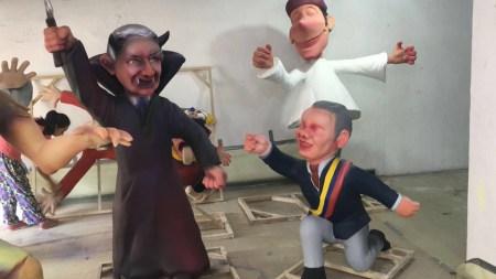 ivan duque figuras bucaramanga carnaval uribe