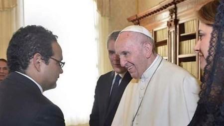 ivan duque roma comitiva papa francisco